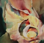 Watercolor Painting - Twirling