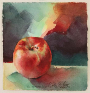 Watercolor Painting - Morning Energy